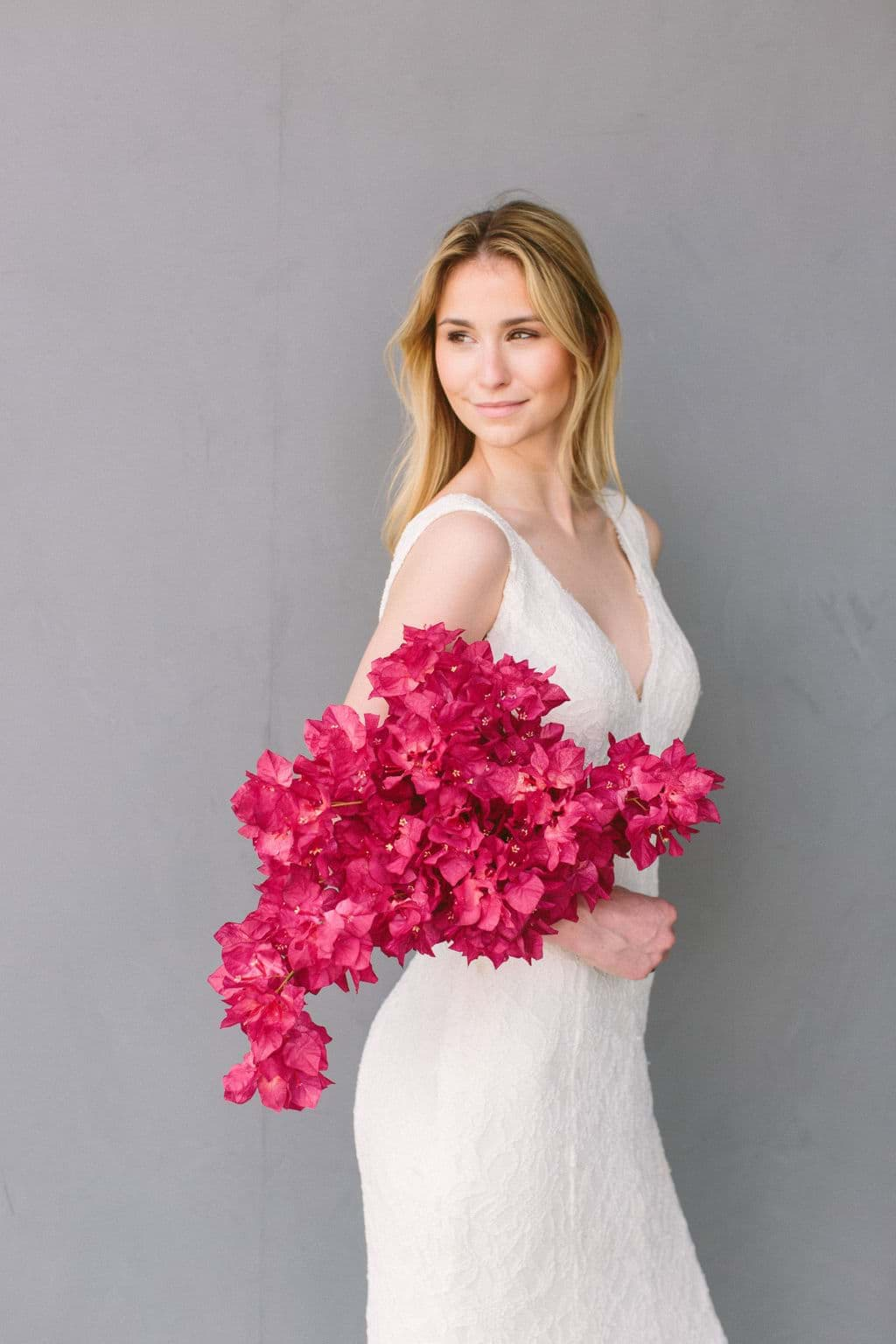 Picture of Gemma Bridal Bouquet (Bougainvillea)